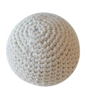 Hæklet lille bold / Hvid