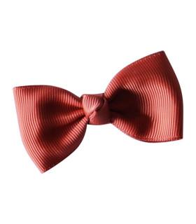Bows by stær sløjfe 7 cm. - rust rød