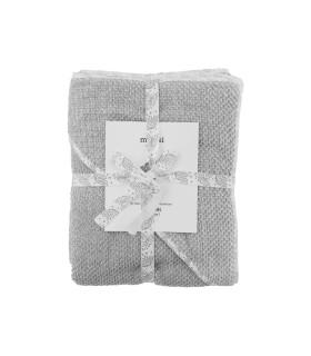 Meraki mini bade håndklæde - grå