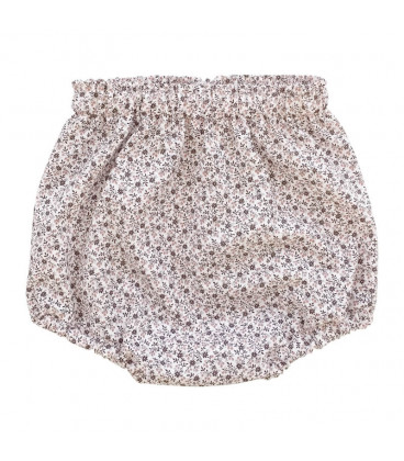 Bloomers baby - lys rosa med blomster