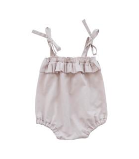 Shorts med bindebånd - Rosa - Petitflora