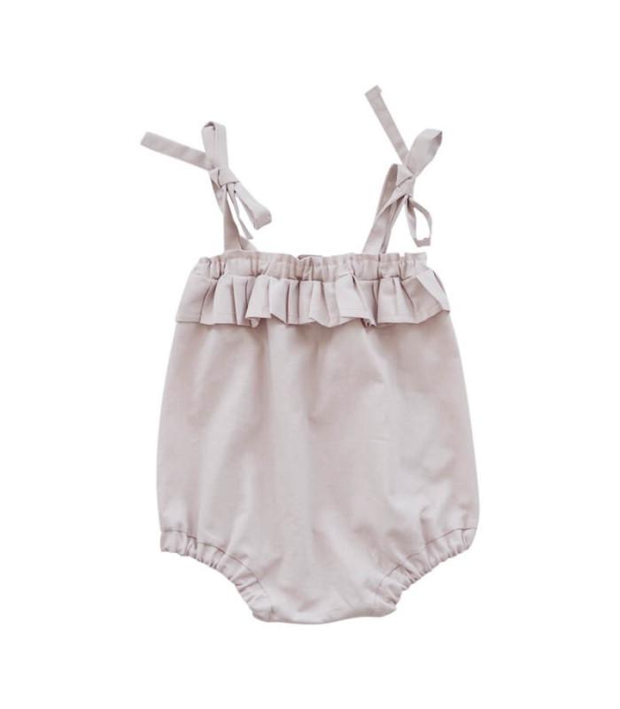 Shorts med bindebånd - rosa