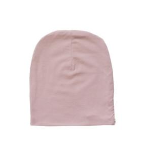 Rosa bomuldshue børn - 100% økotex bomuld
