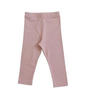 Rosa leggings til piger - Petitflora