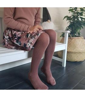 Petitflora - Victoria nederdel - Gammelrosa m. print