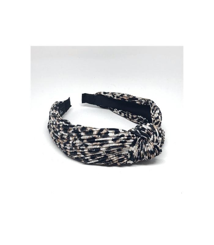 Bow`s By Stær Hårbøjle - Plisse`- Leopard Brown