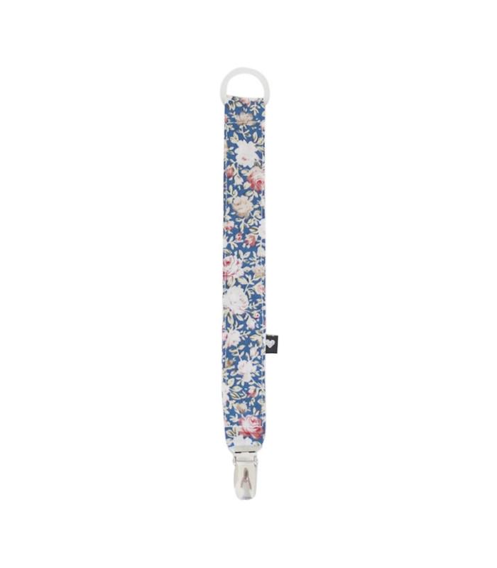Suttesnor - Blå m. blomsterprint - Petitflora