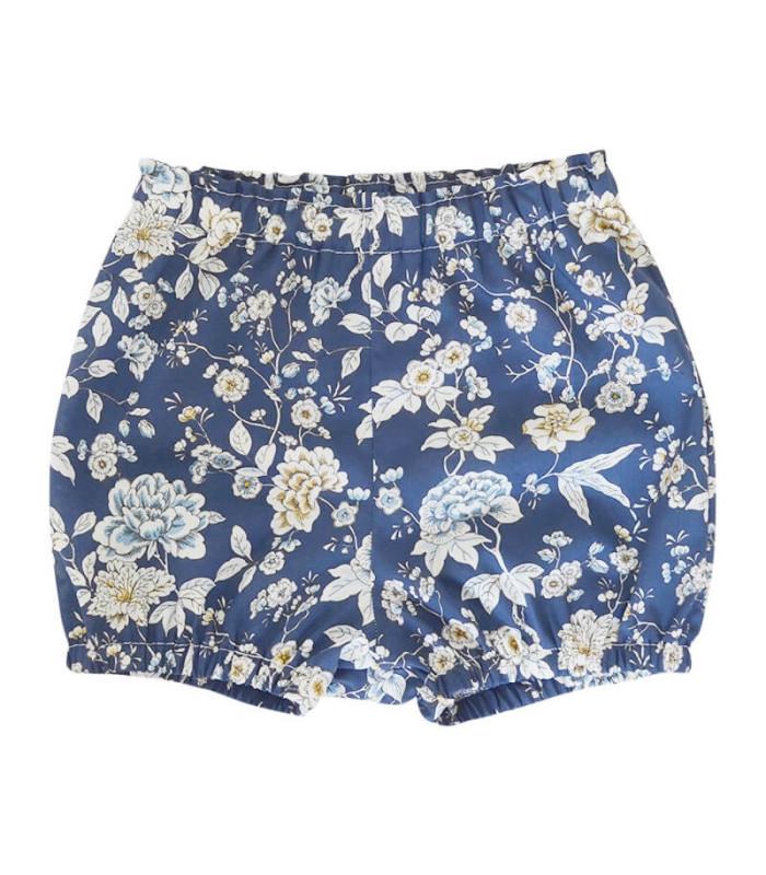 Bloomers - blå liberty - Petitflora