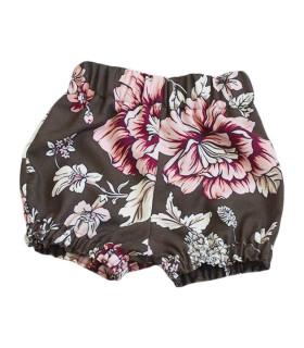 Nina Bloomers - brun m. blomsterprint - Petitflora