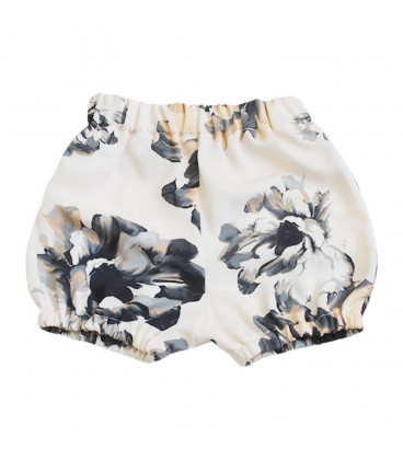 Bloomers - creme m. blomster - Petitflora