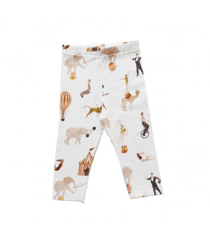 Baby leggings med cirkus print – Petitflora – Vælg str. – 56