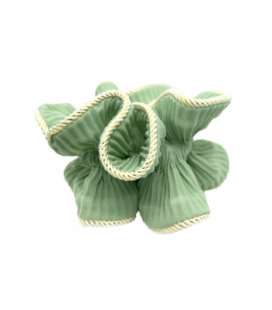 By Stær - Lilje Scrunchie - støvet mint