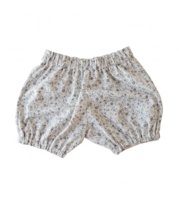 Petitflora - Sussi Bloomers - Sand m. blomster