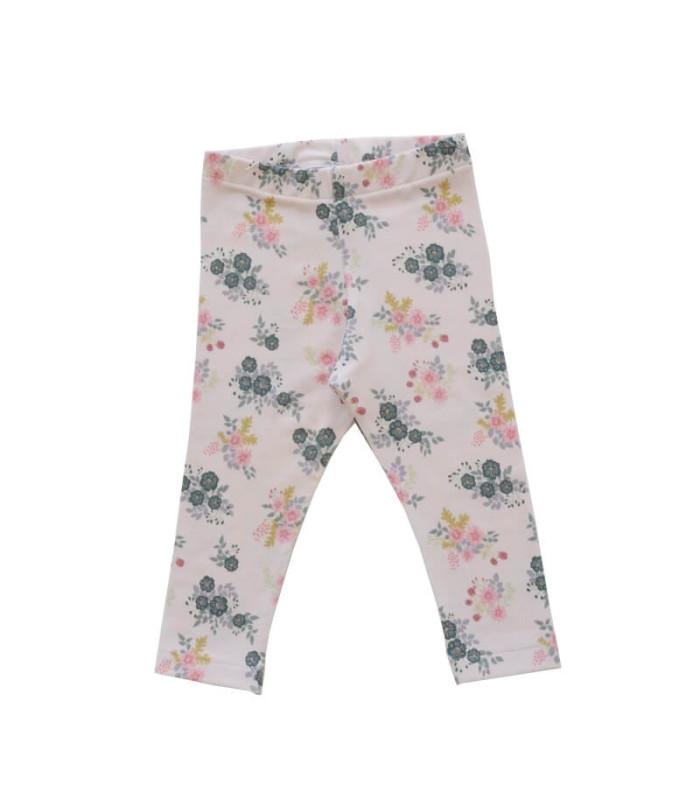 Blomstrede leggings - rosa - Petitflora