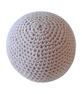 Hånd hæklet bold / Stor - Nude