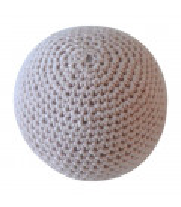 Hæklet bold stor / Nude
