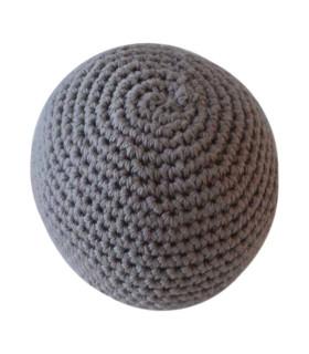Håndhæklet baby bold / Stor - Brun