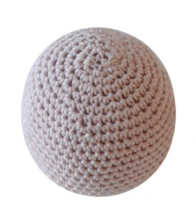 Petitflora - Lille hæklet bold - Nude
