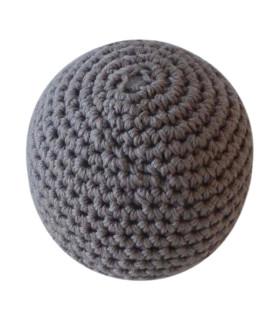 Hæklet bold / lille - Brun