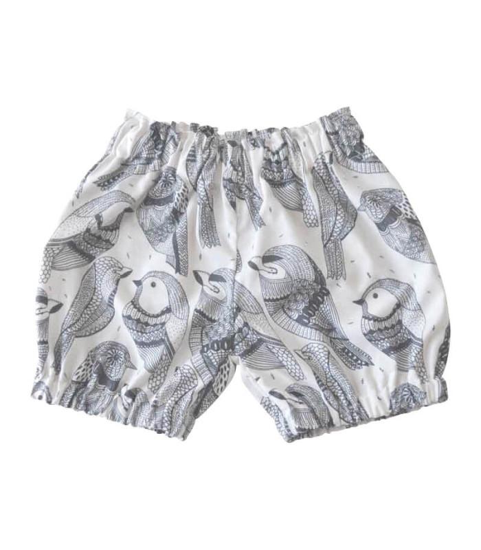 Baby shorts - Fugle