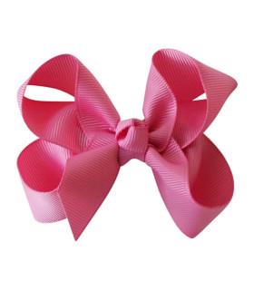 Bows by Stær hårsløjfe 8 cm. - pink