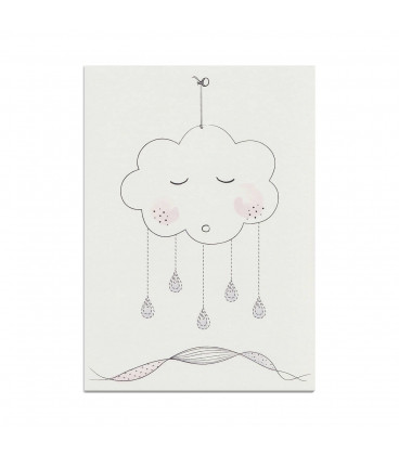 My mini label - Cloud Rose