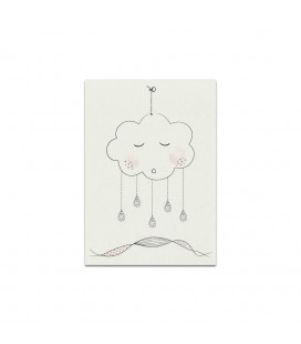 My mini label - Cloud rose A5