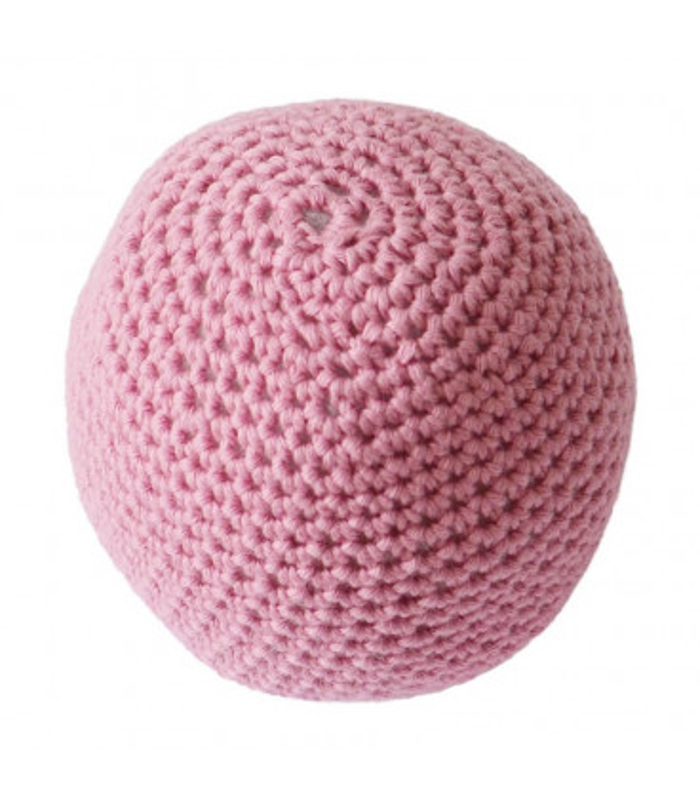 Hæklet bold - Pink