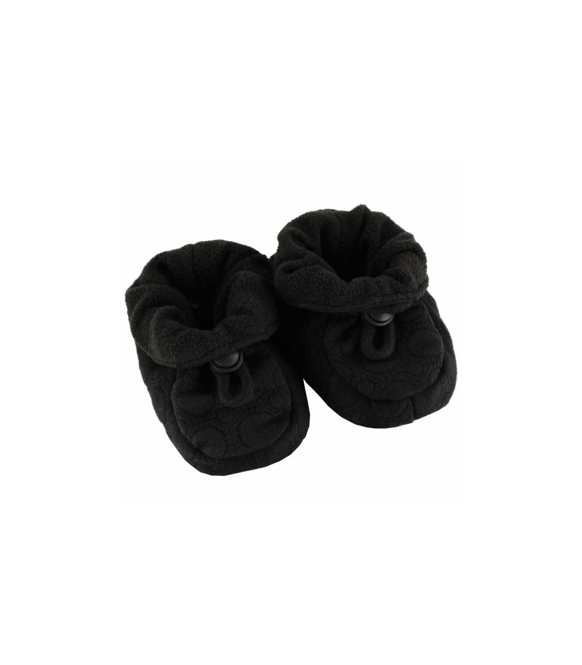 dd69d45e335 Fuzzies futter til baby med skridsikker bund og snørre | sort