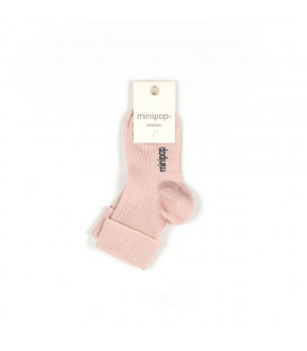 Minipop bambus baby strømper - Rose
