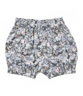 Baby shorts m. blomsterprint - Petitflora