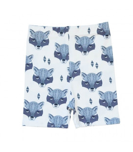 Shorts med seje Racoon heads - Petitflora