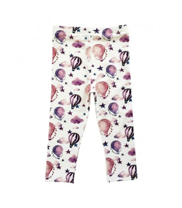 Leggings med luftballonprint