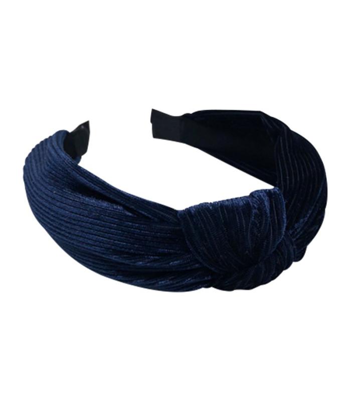 Bows by stær hårbøjle - Velvet navy